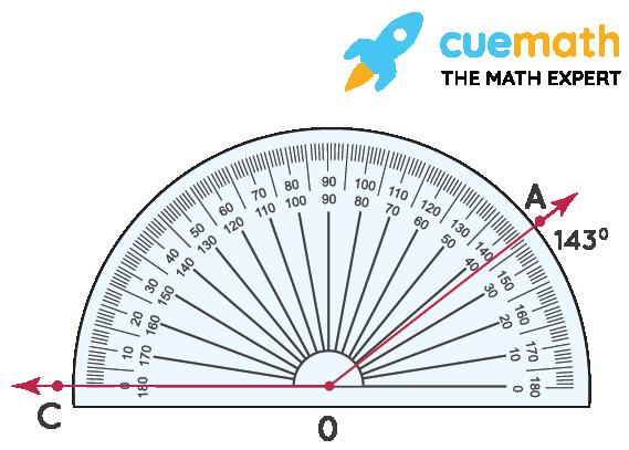 measure angle AOC