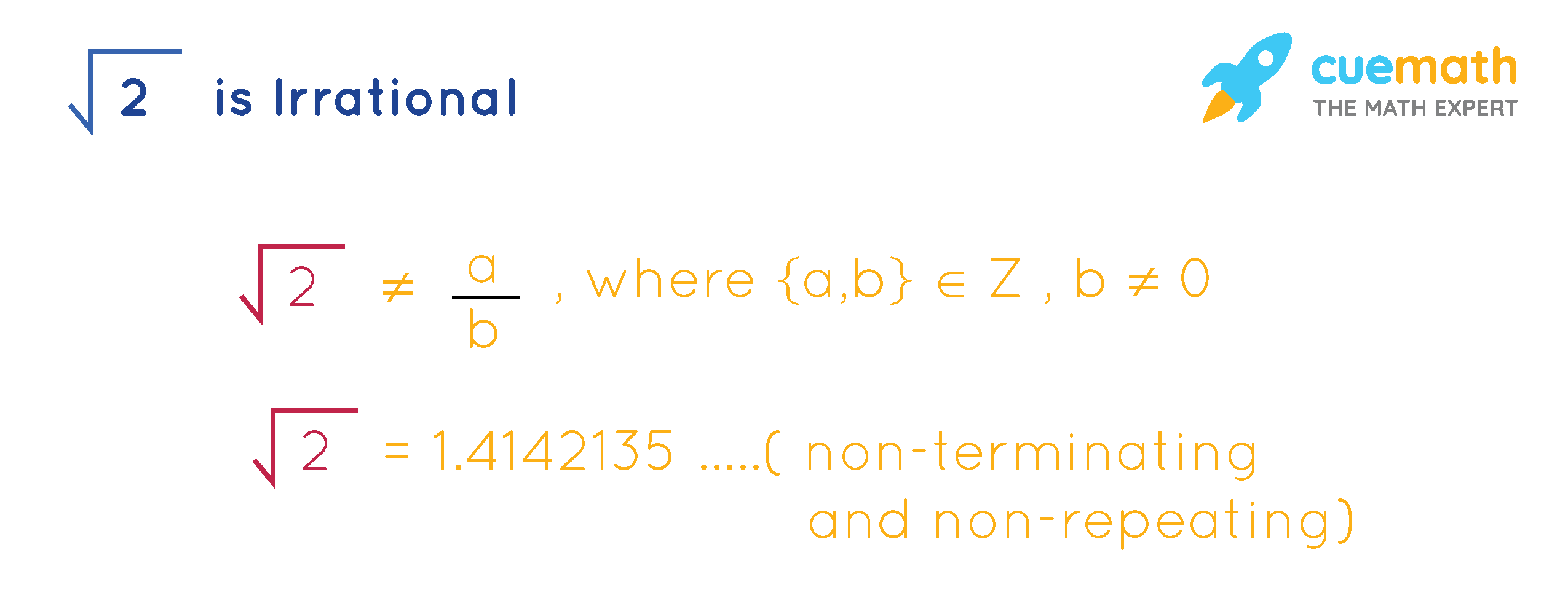 Prove that Root 2 is Irrational