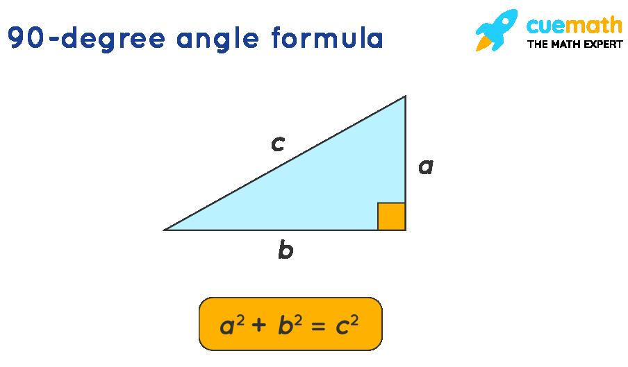 90 Degree Angle Formula