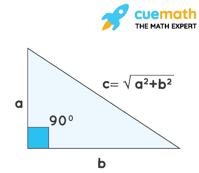 perimeter of right angle triangle using Pythagoras theorem