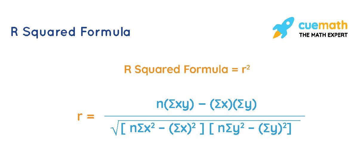 R squared formula