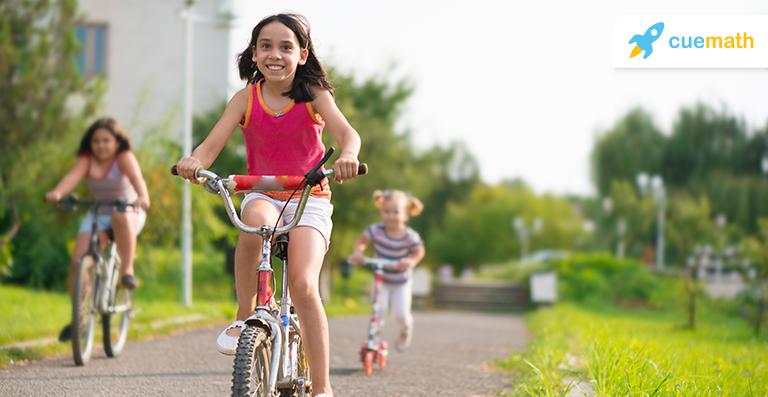 child cycling