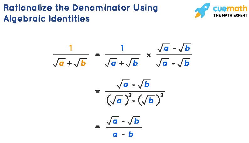 Rationalize the Denominator Using Algebraic Identities
