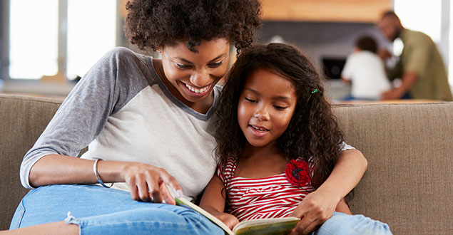 Help develop a habit of reading in your children