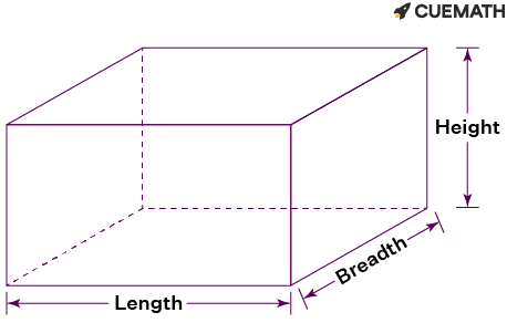 The volume of the rectangular solid