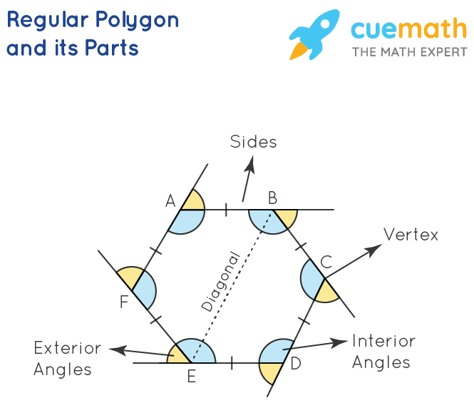 Regular Polygon and its Parts