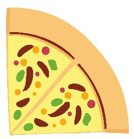 Quarter pizza