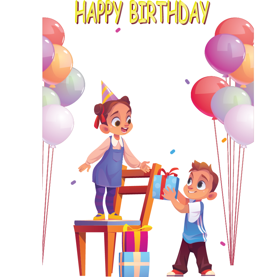 It's Ryma's birthday and she is planning to give return giftsto all who attend her party.