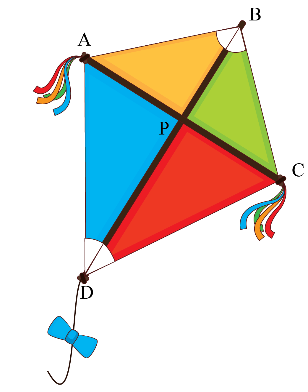 The kite rises highest against the wind, not with it.