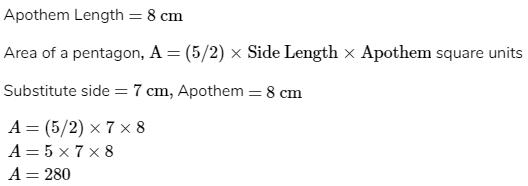 Apothem Length