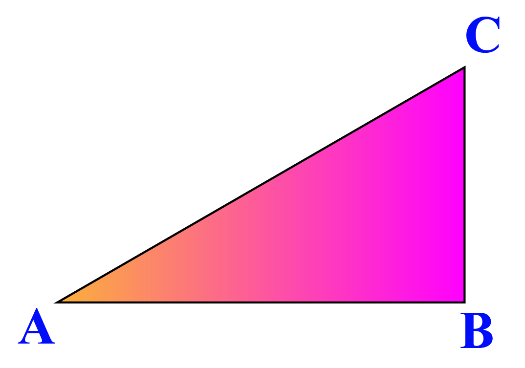 An example of a triangle