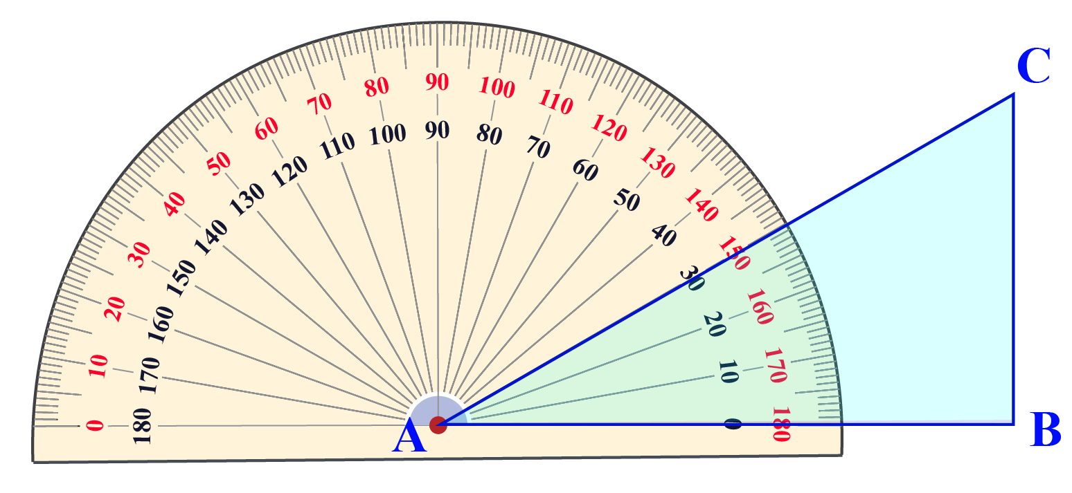 Measure of angle A of a triangle ABC