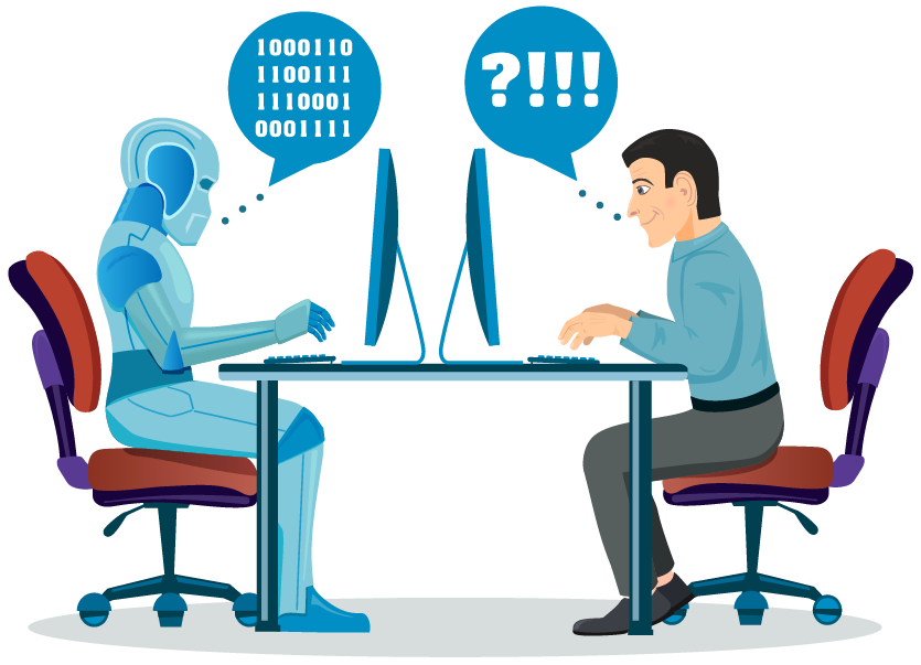 humans communicate with machines