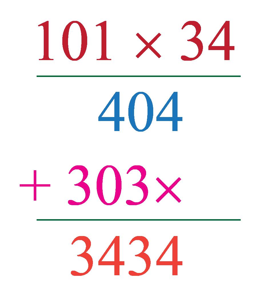 multiplication by long multiplication