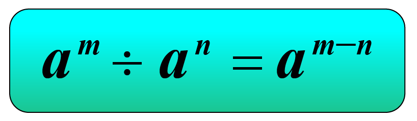 exponent identity