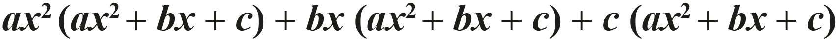 expanding and squaring a trinomial