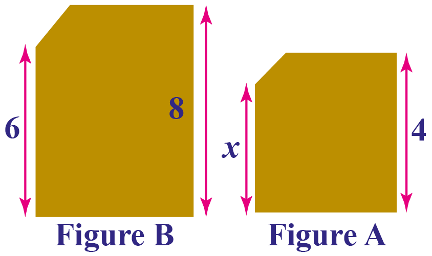 two frames images Figure B is a scale image of A
