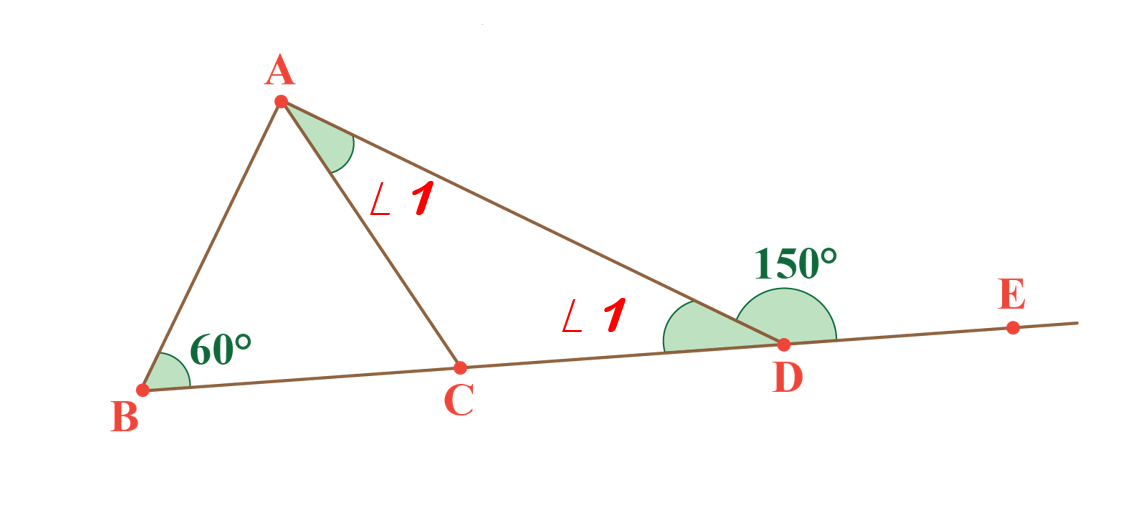 solved example exterior angle theorem