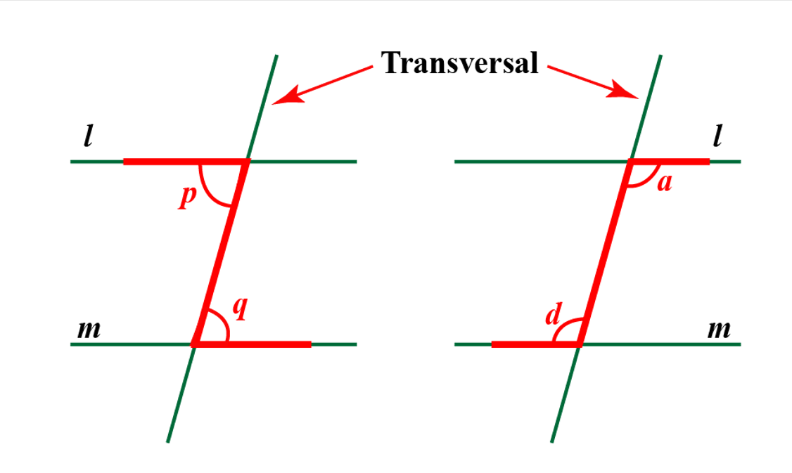 how to find alternate interior angles z test