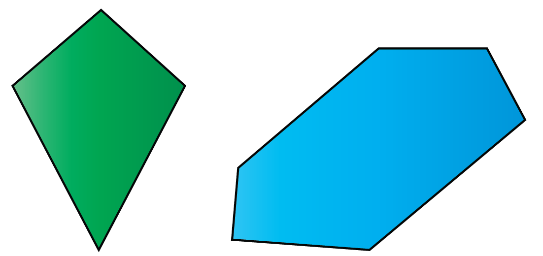 Examples of convex polygon