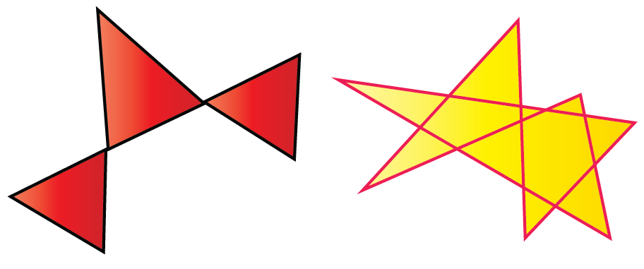 Examples of complex polygon
