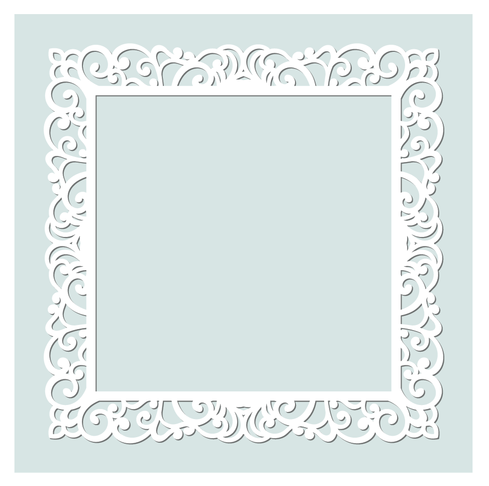 Photo frame- Example of regular polygon