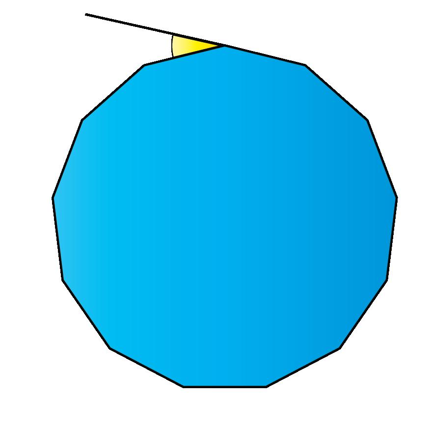 13-sided polygon