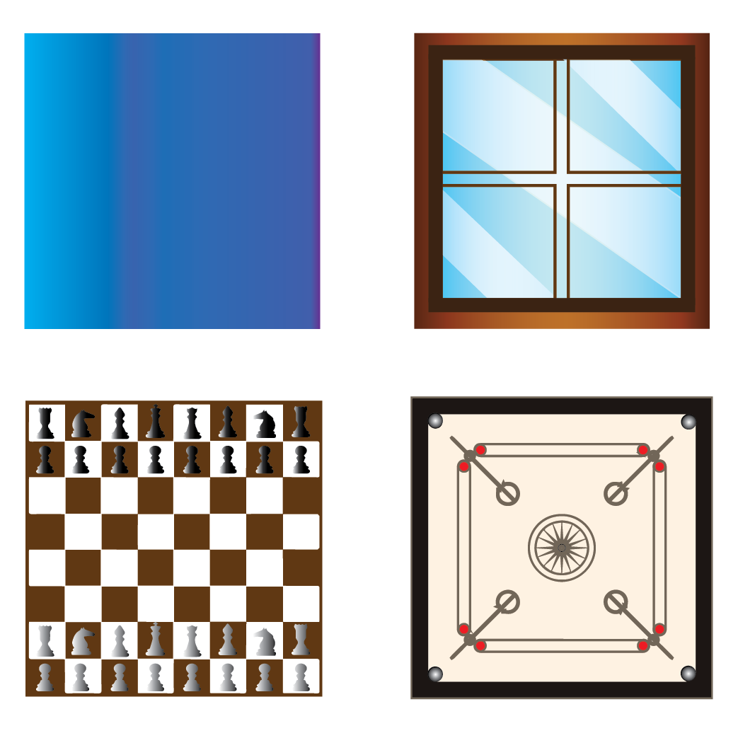 A square is a two-dimensional shape that consists of four sides whichare all equal.