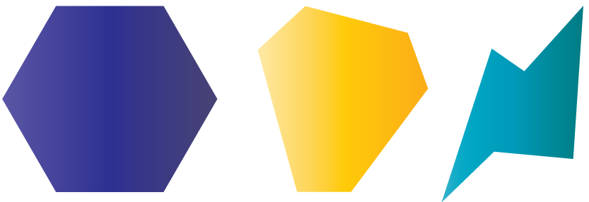Hexagon polygons