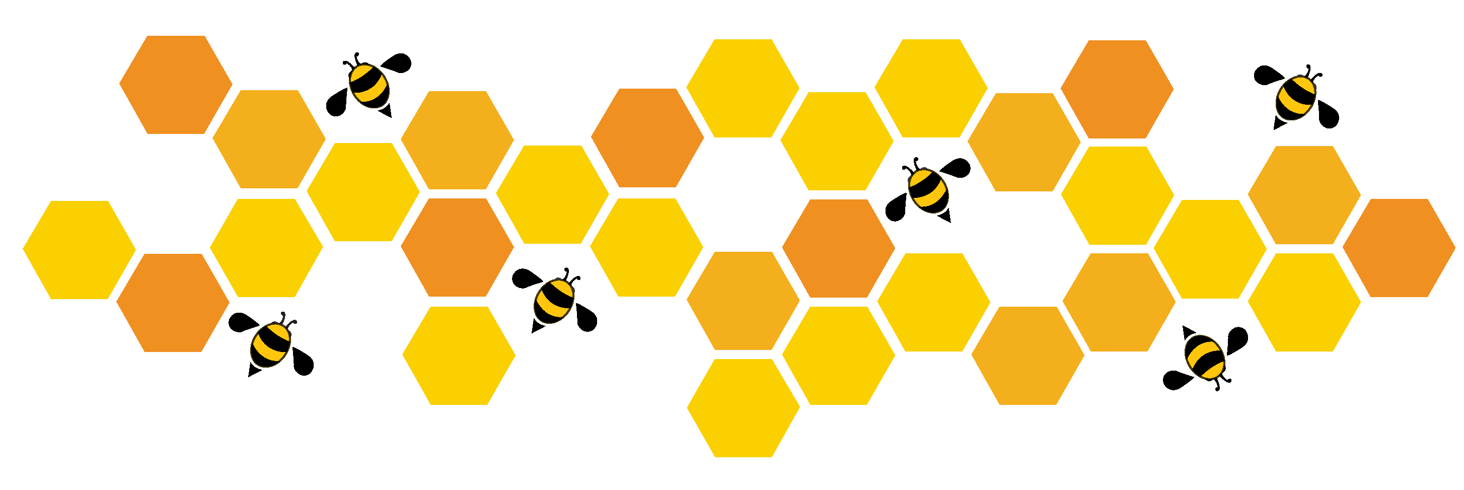 honeycomb in a shape of polygon