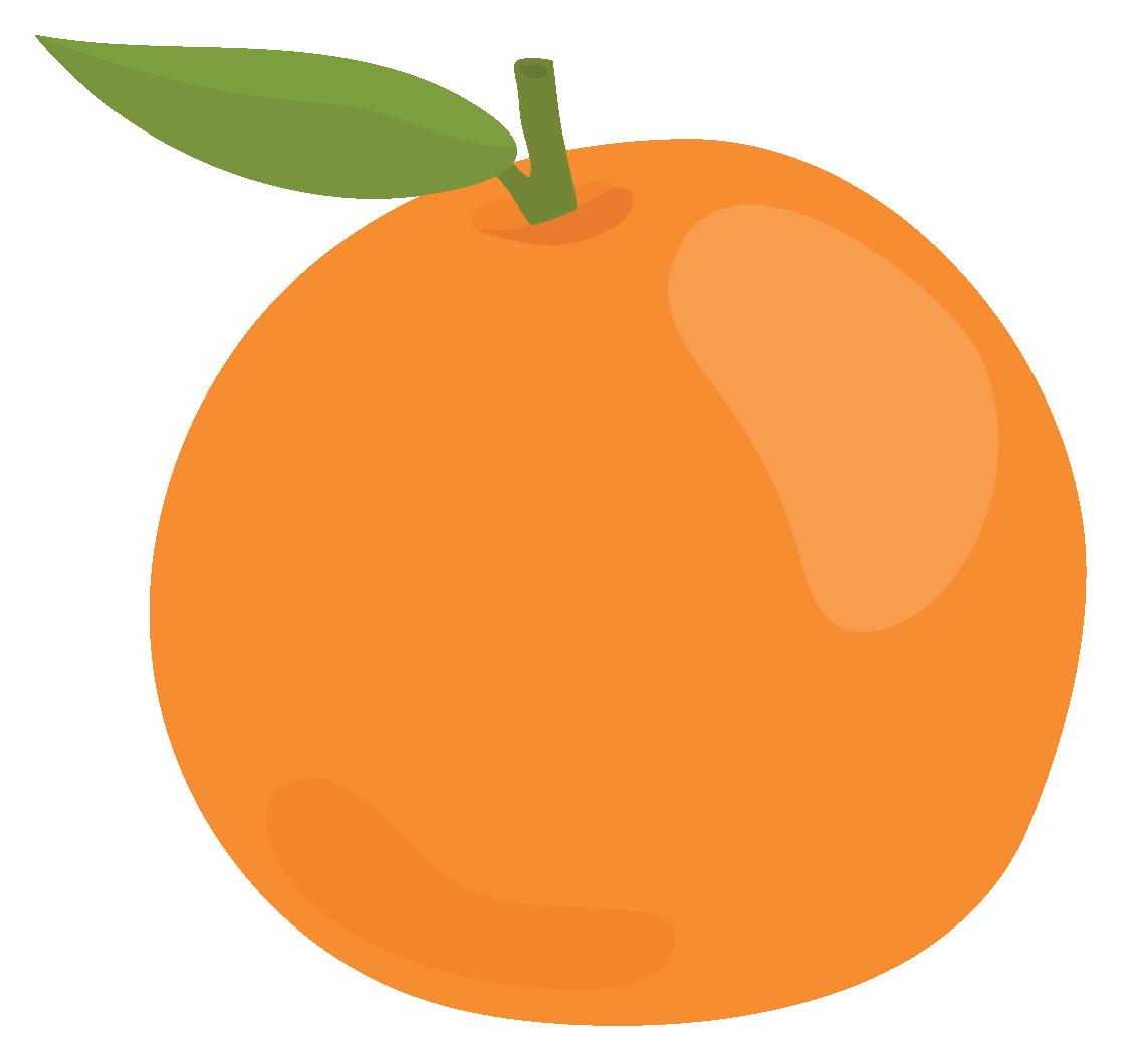 orange resembles a sphere