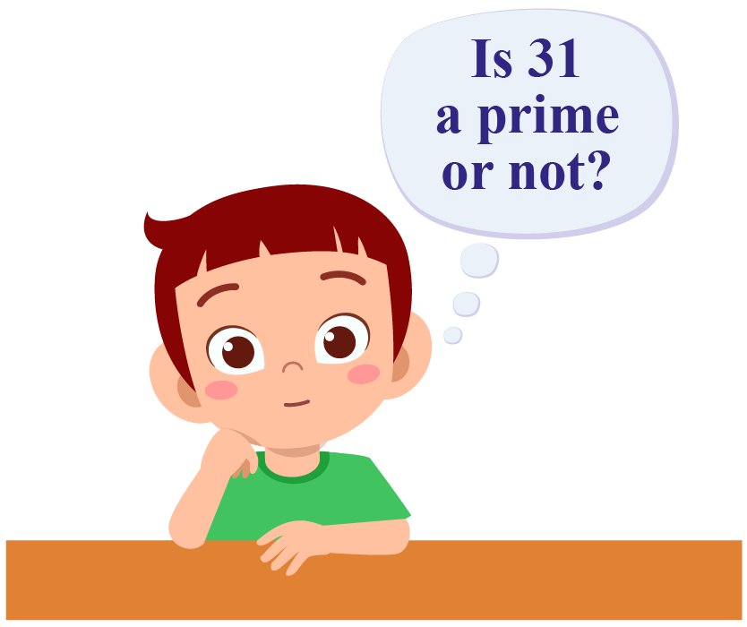 Cute kid boy with blank bubble mind Premium Vector