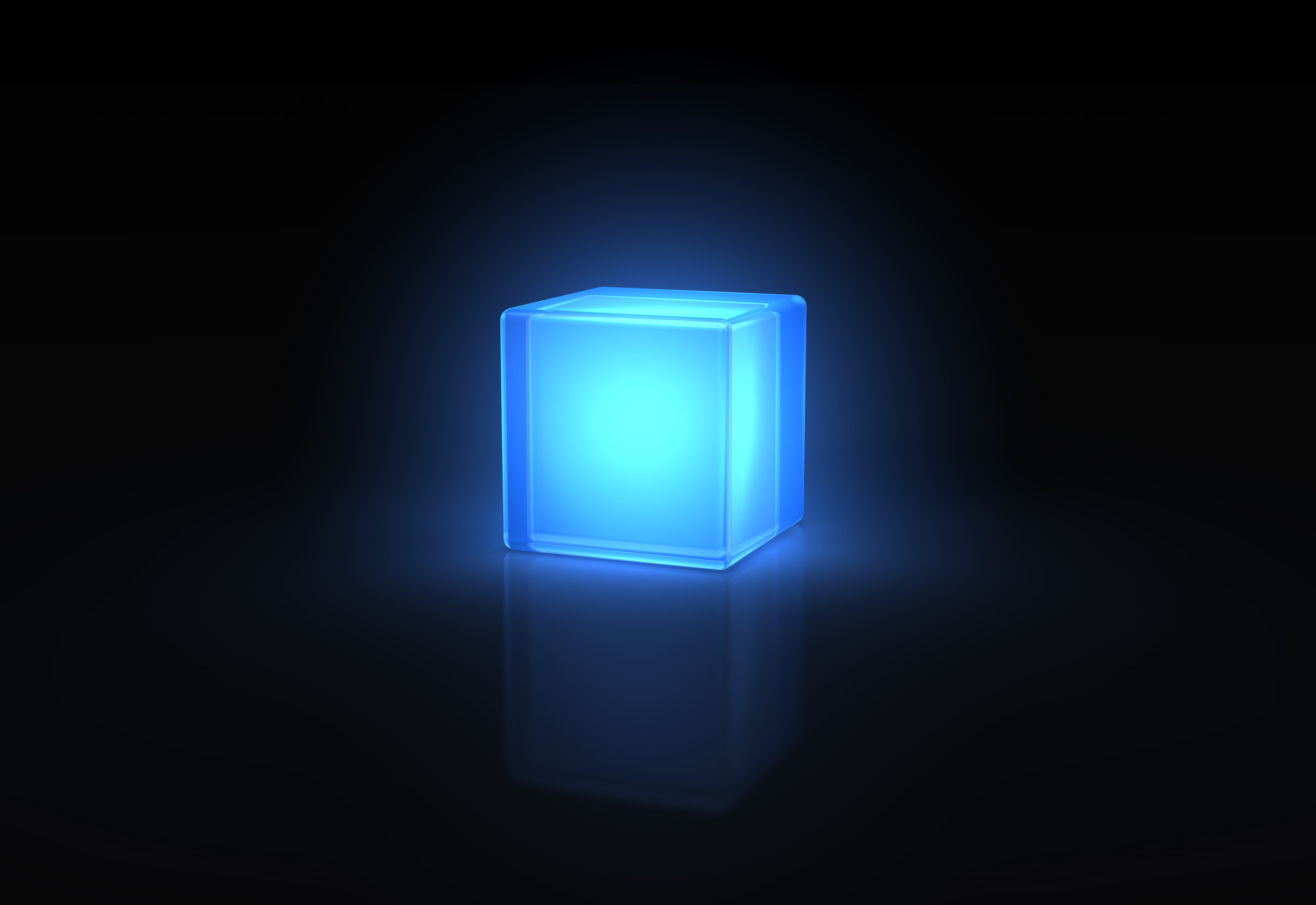 sparkling cube