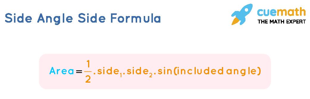 Side Angle Side Area Formula
