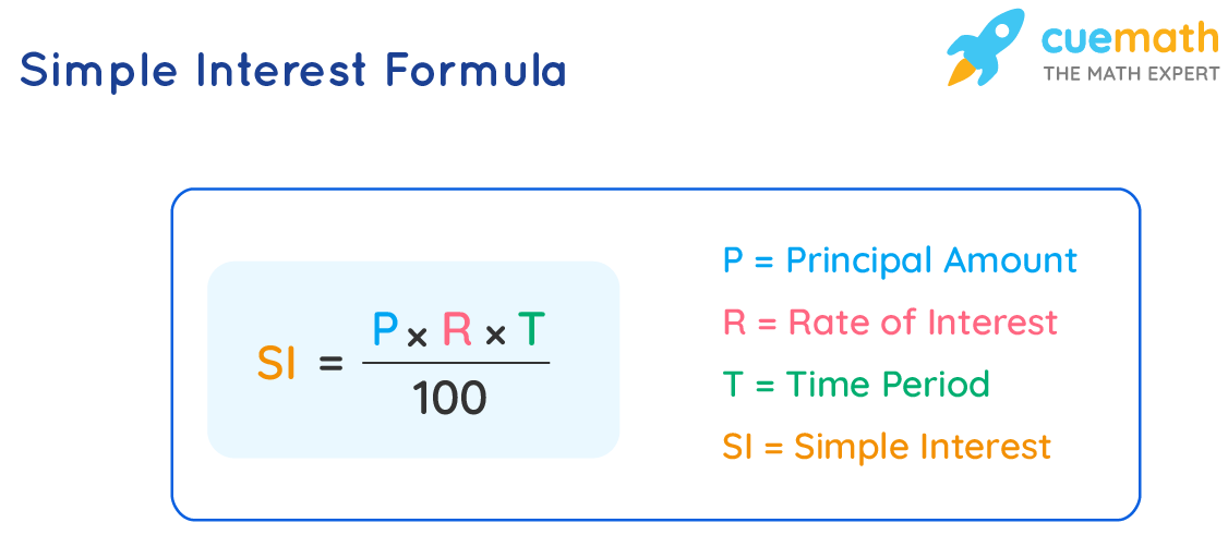 formula for simple interest