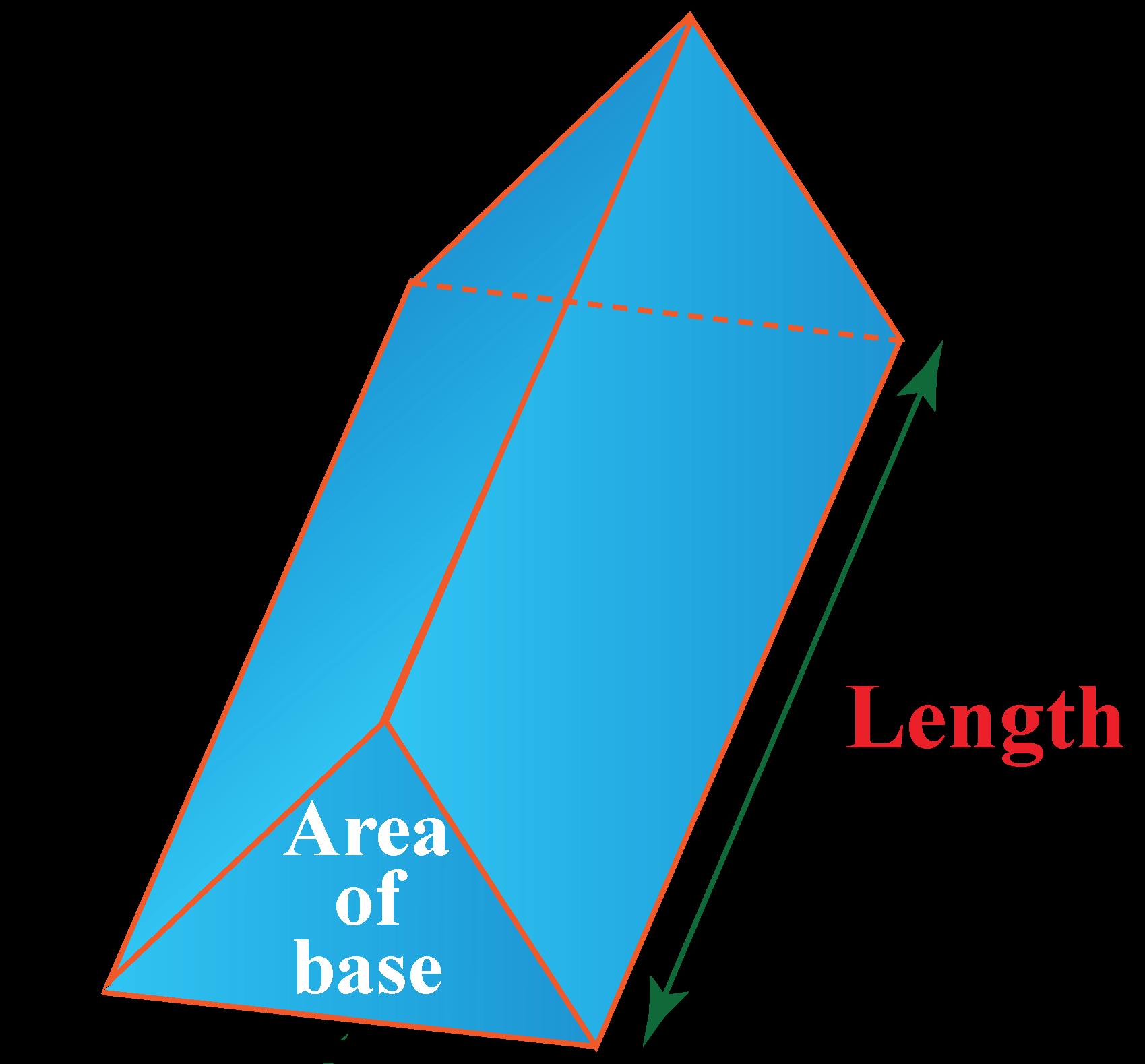 triangular prism volume