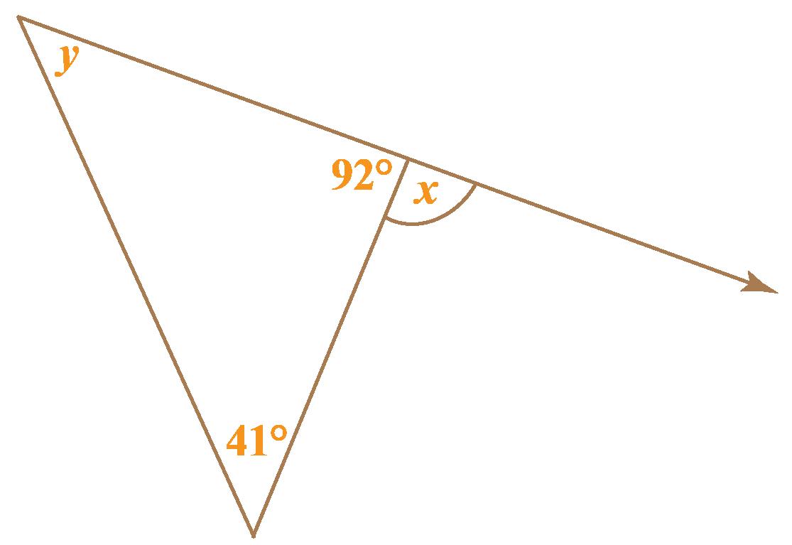exterior angle theorem use