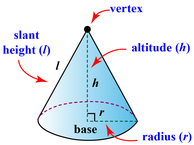 cone and its parts
