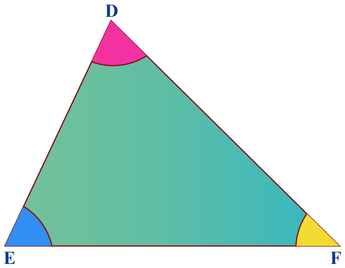 triangle, acute triangle, acute-angled triangle