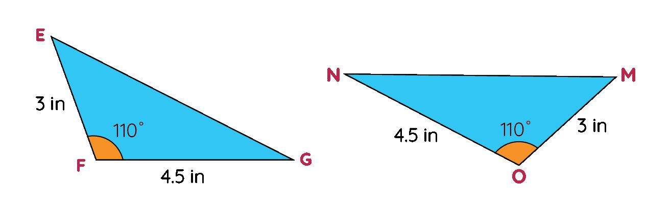 SAS Triangle Congruency Rule Example