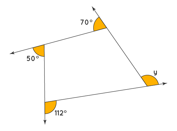 Exterior Angles of a Polygon Solved Example