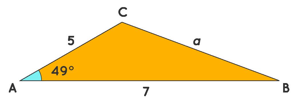 Example on Side Angle Side Formula