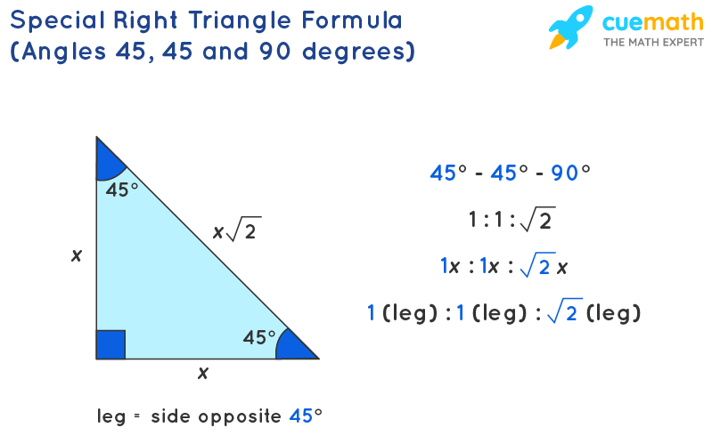 Special Right Triangle Formula
