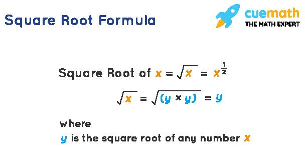 Square root formula
