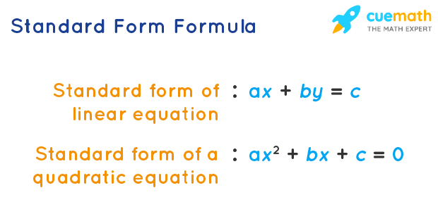 Standard Form Formula