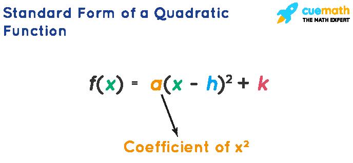 standard form of a quadratic function