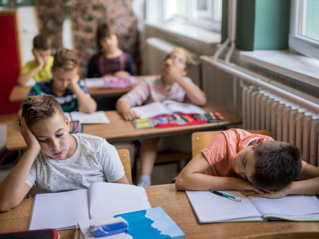 Children not getting enough sleep