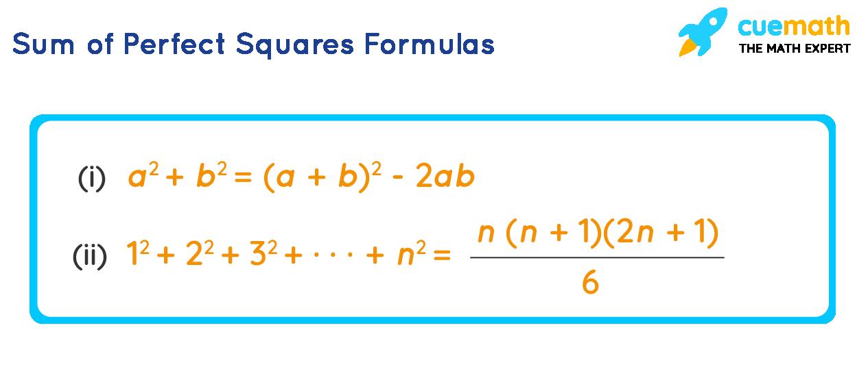 Sum of Perfect Squares Formulas