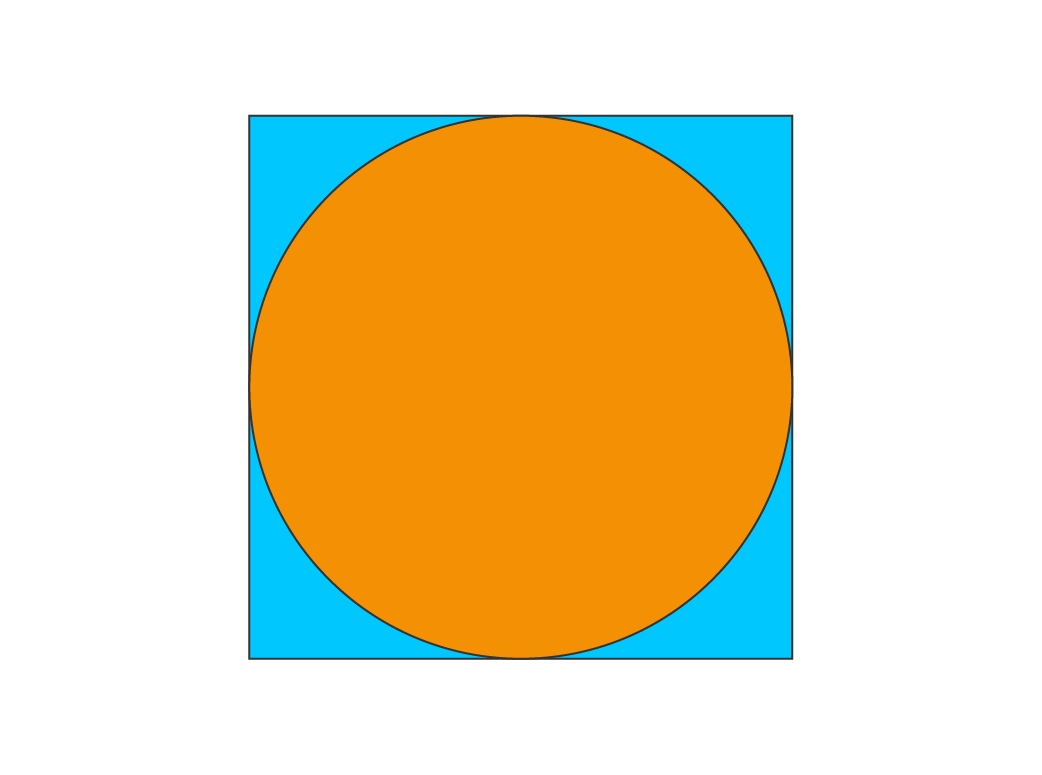 Symmetry in the given figure