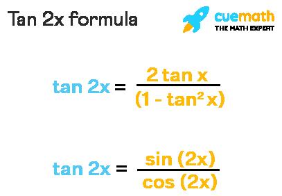 tan 2x formula